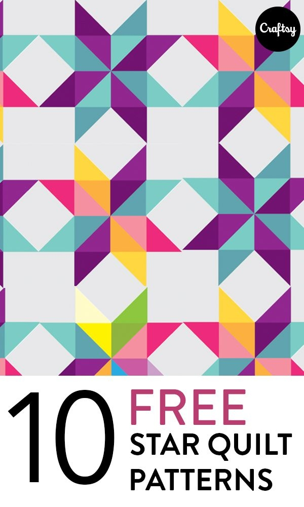 10 free star quilt patterns youll love sewinghandmade Elegant Traditional Quilt Patterns History
