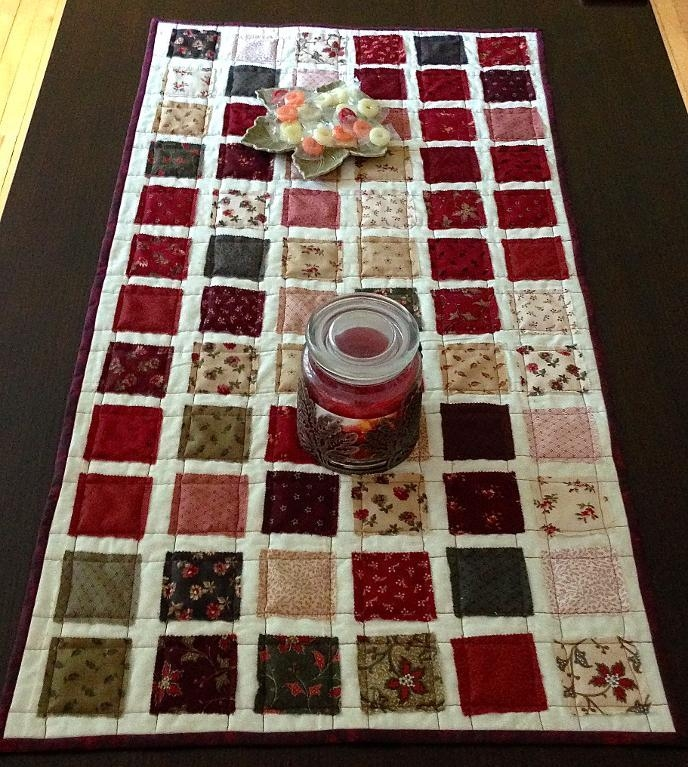 10 free table runner quilt patterns youll love Modern Table Runner Quilt Pattern Gallery
