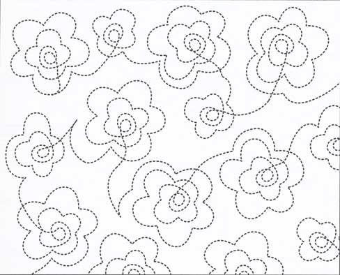 13 free continuous machine quilting designs images Unique Continuous Line Quilting Patterns