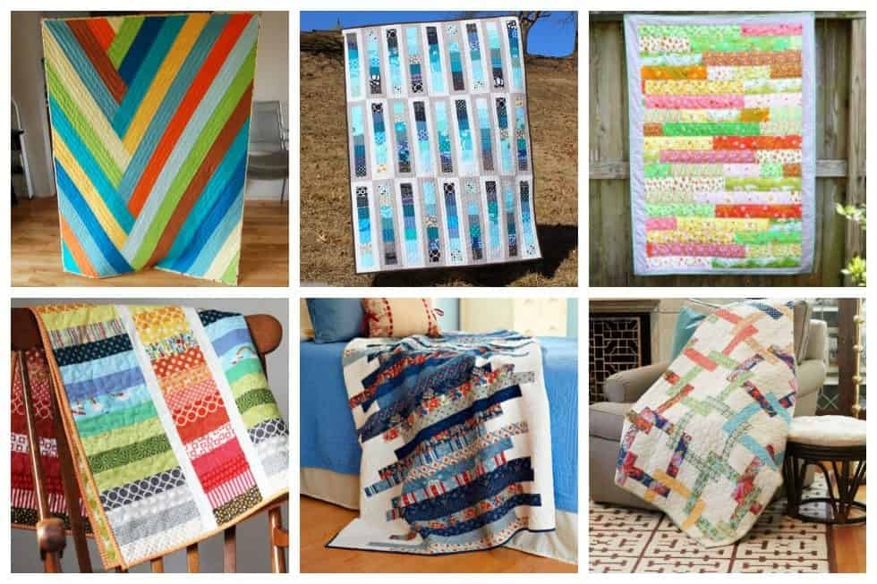 13 strip quilt patterns you can easily master ideal me Elegant Quilt Patterns Using Strips