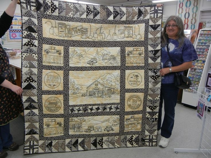 16 best quilt embroidered images on pinterest embroidery Modern Vintage Tin Quilt Pattern