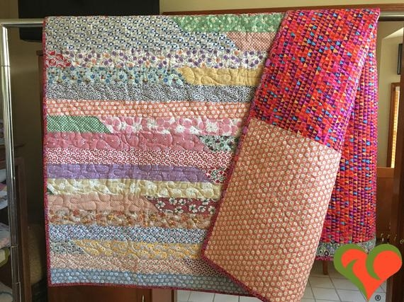 1930s reproduction fabrics lap sized quilt comfort quilt throw quilt toddler quilt sofa quilt handmade one of a kind quilt Elegant Quilt Fabric Manufacturers