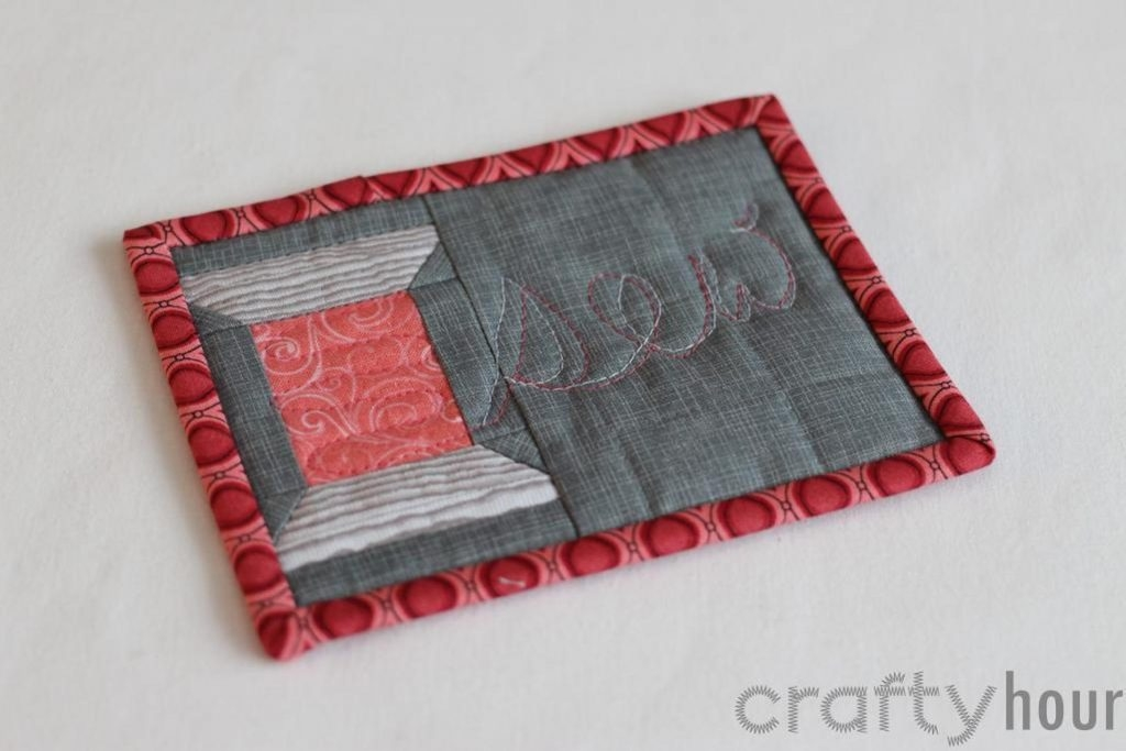 22 adorable free mug rug patterns jacquelynne steves Stylish Quilted Mug Rug Patterns Gallery