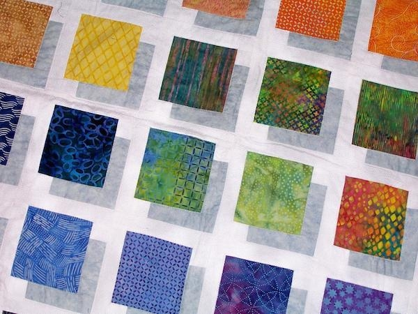 3 d quilt blocks quilting optical illusions Interesting Three Color Quilts Blocks