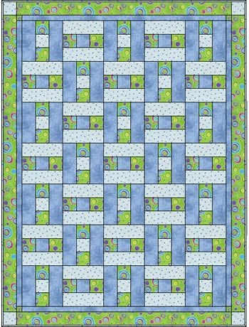 3 fabric quilt i think this simple pattern would like Cool Quilt Patterns Using 3 Fabrics Gallery