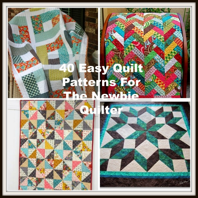40 easy quilt patterns for the newbie quilter Cool Easy Quilt Pattern For Beginners Gallery