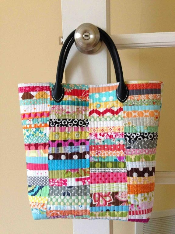 6 quilted purse patterns perfect for patchwork Stylish Quilted Bags And Totes Patterns