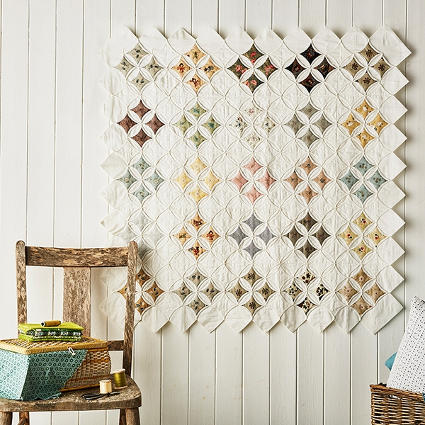 7 of the best cathedral window quilts todays quilter Mock Cathedral Window Quilt Pattern Inspirations
