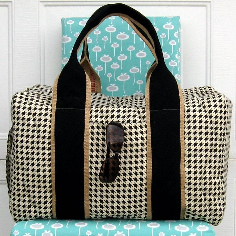 7 stylish duffel bag patterns you can sew in a weekend Stylish Quilted Duffle Bag Pattern