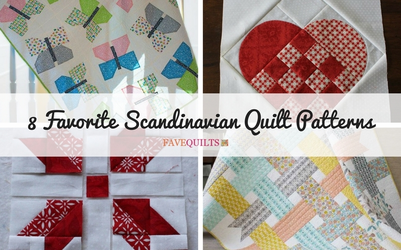 8 favorite scandinavian quilt patterns seams and scissors Modern Scandinavian Quilt Patterns Gallery