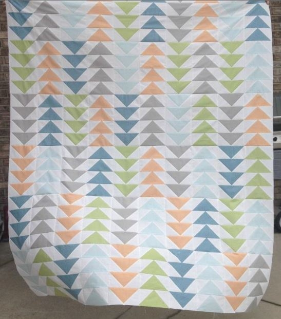 8 stunning flying geese quilt patterns join the flock Modern Quilting Flying Geese Pattern