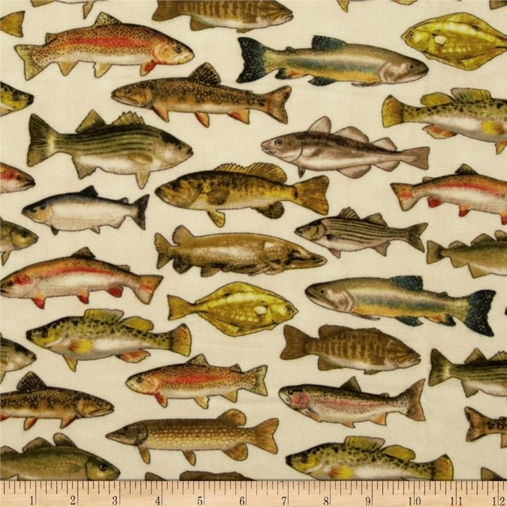 9 best boys fabrics images on pinterest quilting fabric fish Interesting New Fish Fabric For Quilting
