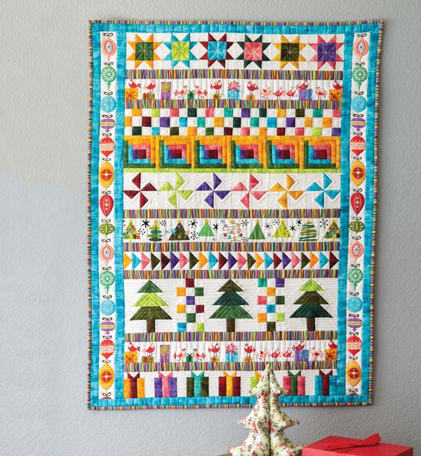 a bitty christmas quilt pattern download Christmas Quilt Pattern