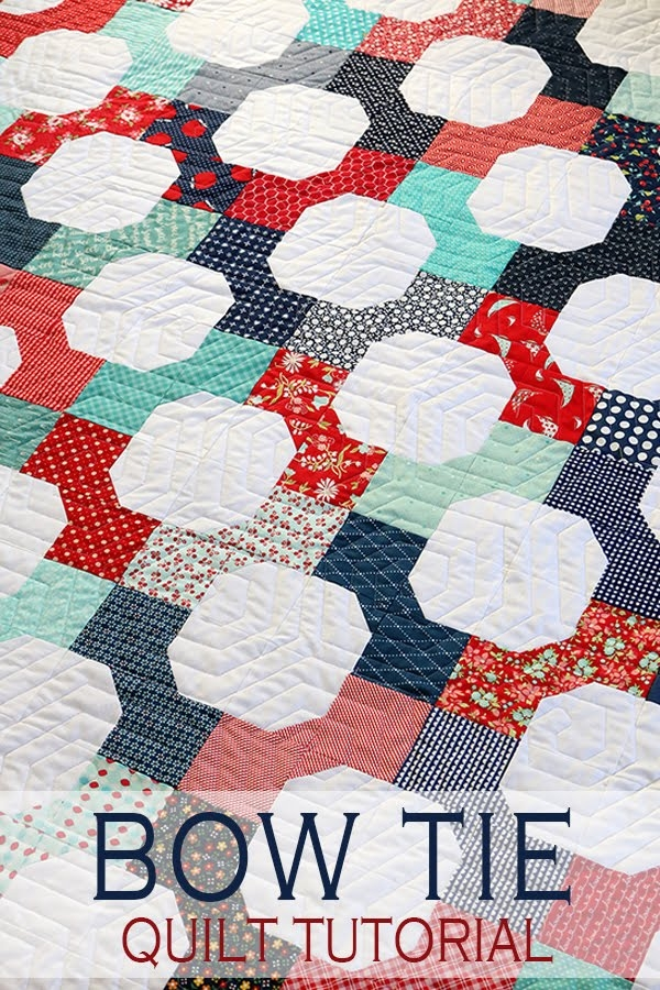 a bright corner second look sunday bow tie quilt pattern Cool Bow Tie Quilt Block Pattern Gallery