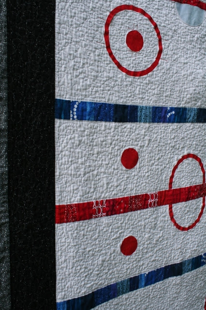 a quarter inch from the edge friday finish good old The Good Ole Hockey Game Quilt Pattern