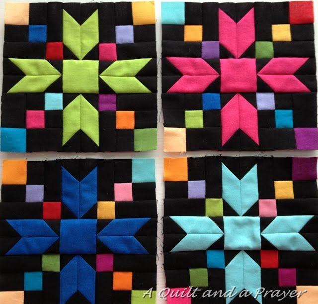 a quilt and a prayer amish beauties a bonnie hunter design Modern Amish Quilt Block Patterns