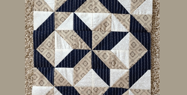 a super easy 3 fabric quilt block quilting cub Unique Three Fabric Quilt Patterns Inspirations