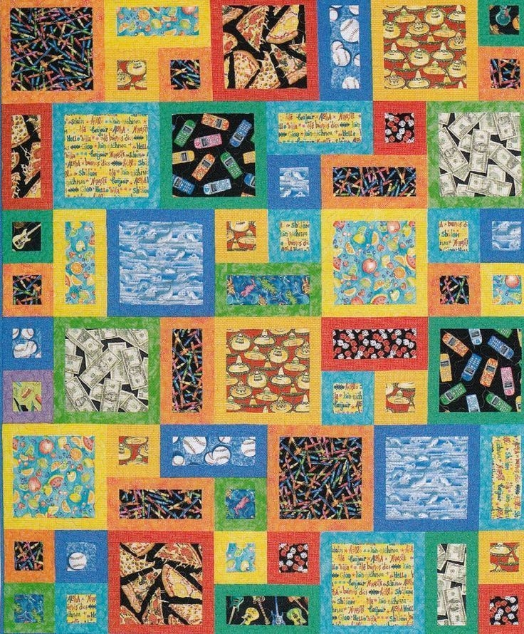 all about me quilt sewing pattern from atkinson designs All About Me Quilt Pattern
