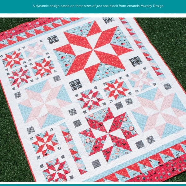 all star printed amanda murphy design quilts star Cozy Amanda Murphy Quilt Patterns