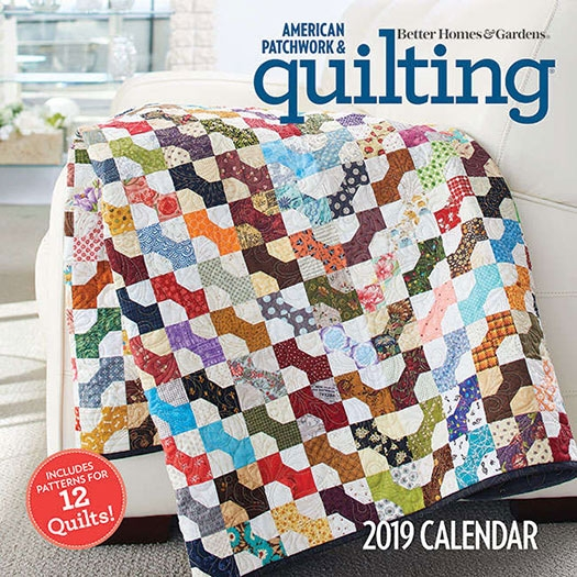 american patchwork quilting 2019 calendar and pattern booklet 1 issues Elegant American Patchwork And Quilting Patterns