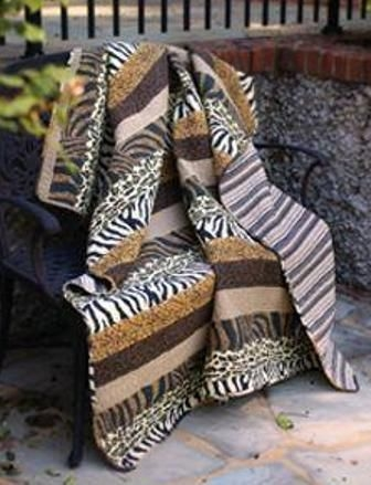 animal print quilt this had my mom written all over it lol Stylish Animal Print Quilt Patterns Inspirations