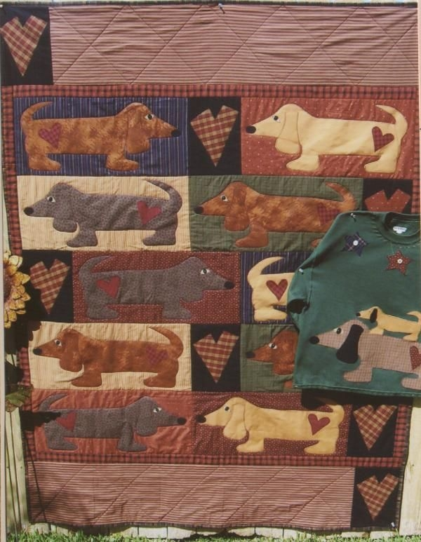 animal quilt patterns free whimsical quilt patterns dog Whimsical Quilt Patterns Inspirations