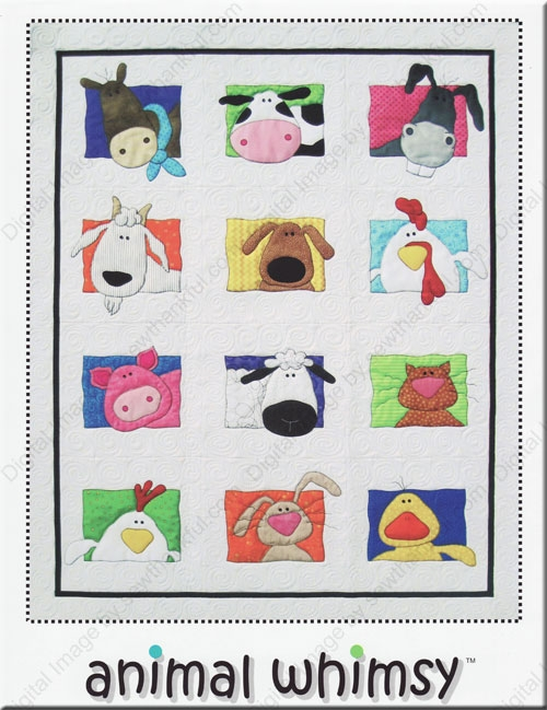 animal whimsy quilt pattern amy bradley designs Cozy Amy Bradley Quilt Patterns Gallery