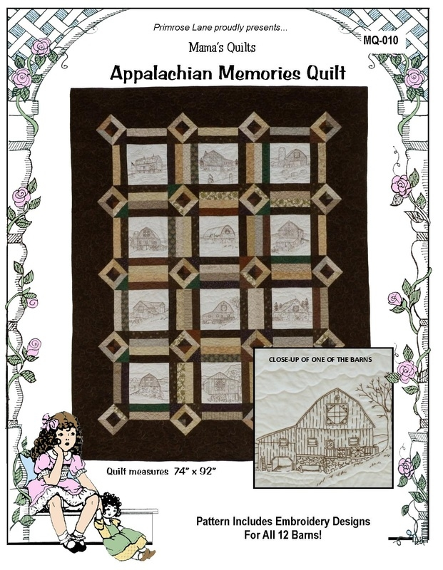 appalachian memories quilt pattern mq 010 Interesting Appalachian Quilt Patterns Inspirations