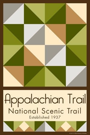 appalachian trail nst quilt block 1 block quilts quilt Interesting Appalachian Quilt Patterns Inspirations