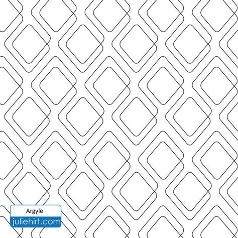 argyle longarm quilting digital pattern for edge to edge Stylish Statler Stitcher Quilting Patterns Inspirations