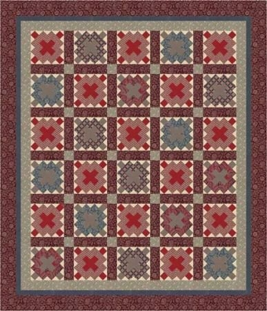 aurovil quilt pattern french general design team using Modern French General Fabric Quilt Patterns Inspirations