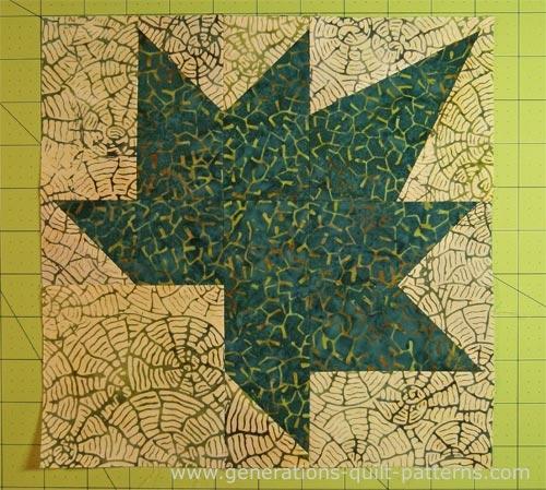 autumn leaf quilt block instructions continued Autumn Leaves Quilt Pattern Inspirations