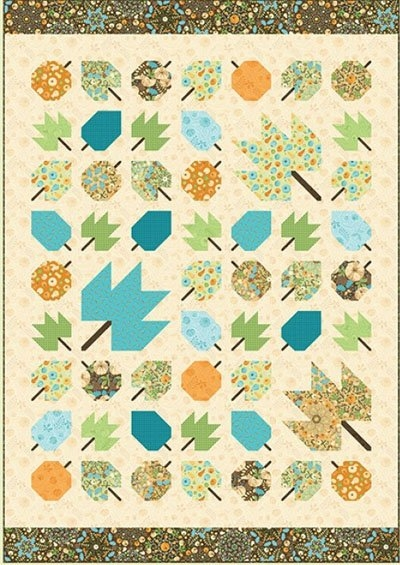 autumn leaves quilt pattern amanda murphy designs Cozy Amanda Murphy Quilt Patterns