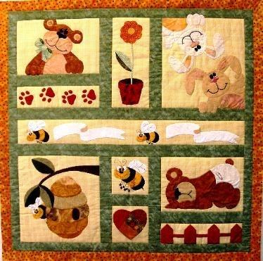 ba quilt patterns applique quilts patterns bears Stylish Applique Quilt Patterns For Children Inspirations