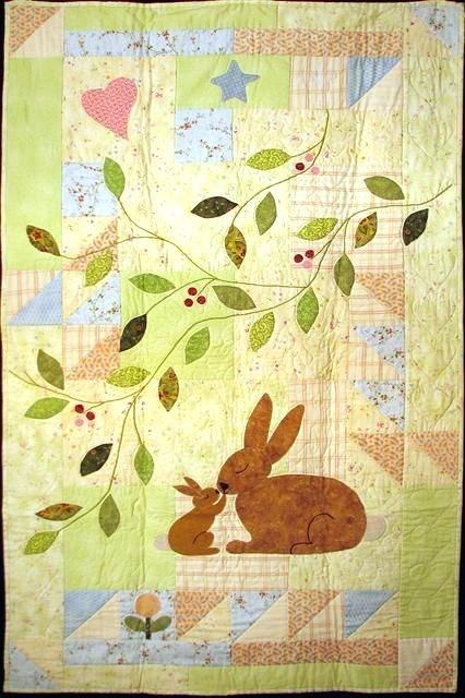 ba quilt patterns free pinterest applique ba quilts ba Elegant Pinterest Baby Quilts To Sew