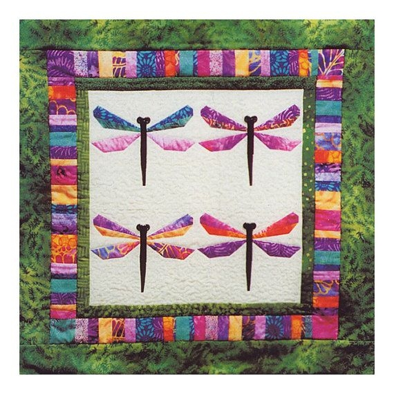 bali dragonfly quilt pattern foundation piecing pattern Interesting Dragonfly Quilt Patterns Gallery
