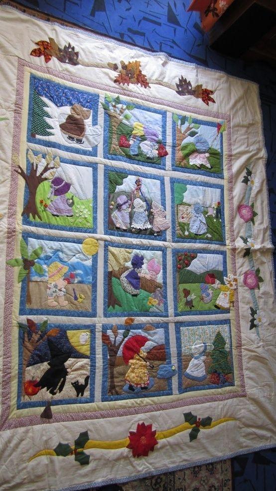 baltimore quilt patterns free sunbonnet sue quilt meiner Cool Baltimore Quilts Patterns Inspirations