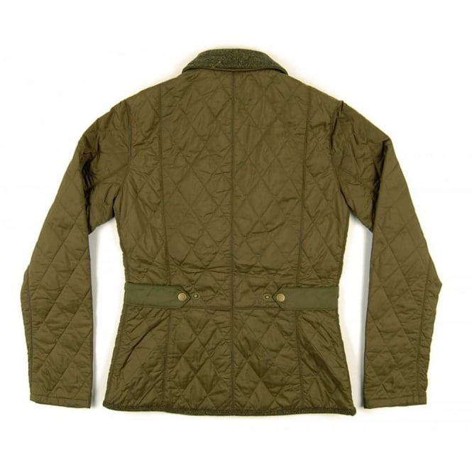 barbour ladies vintage tweed quilt jacket olive Cool Barbour Vintage Tweed Quilted Jacket