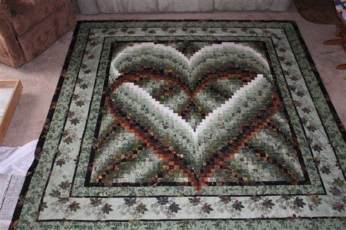 bargello heart bargello group quilters club of america Elegant Bargello Heart Quilt Pattern
