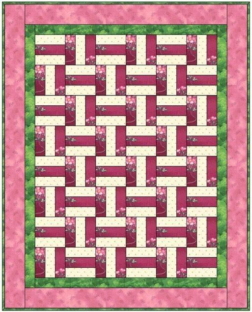 basket weave quilt quilts basket weaving rail fence Unique Basket Weave Quilt Pattern