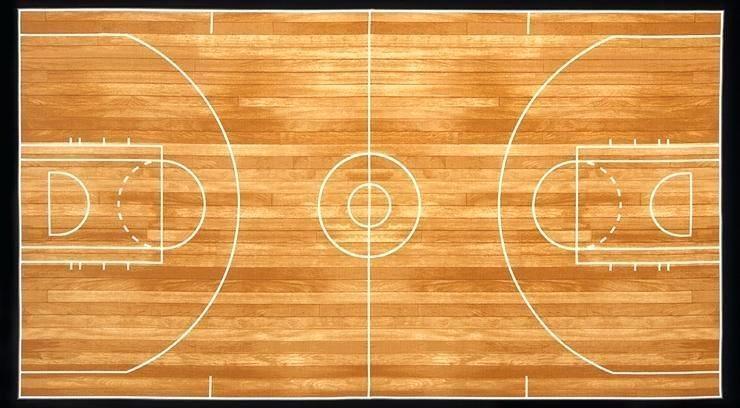 basketball quilt court panel pattern myhrcvs Cool Basketball Quilt Pattern Gallery