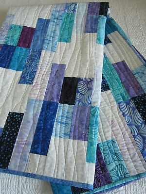 batik quilt modern quilt cotton quilt patchwork handmade quilt ebay Beautiful Ebay Cotton Fabric Quilting Ideas Gallery