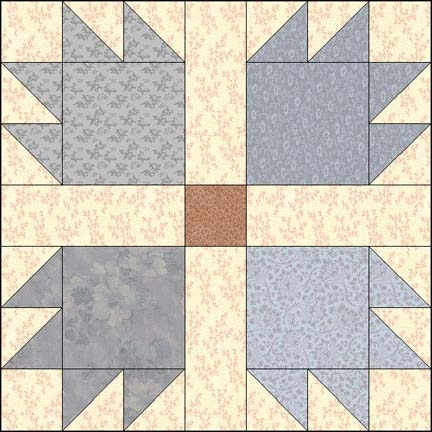 bears paw Unique Bear Paw Quilt Block Pattern Gallery