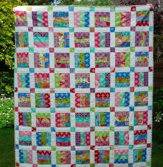beautiful strip quilt patterns save time quilts Modern Jelly Roll Strip Quilt Patterns Gallery