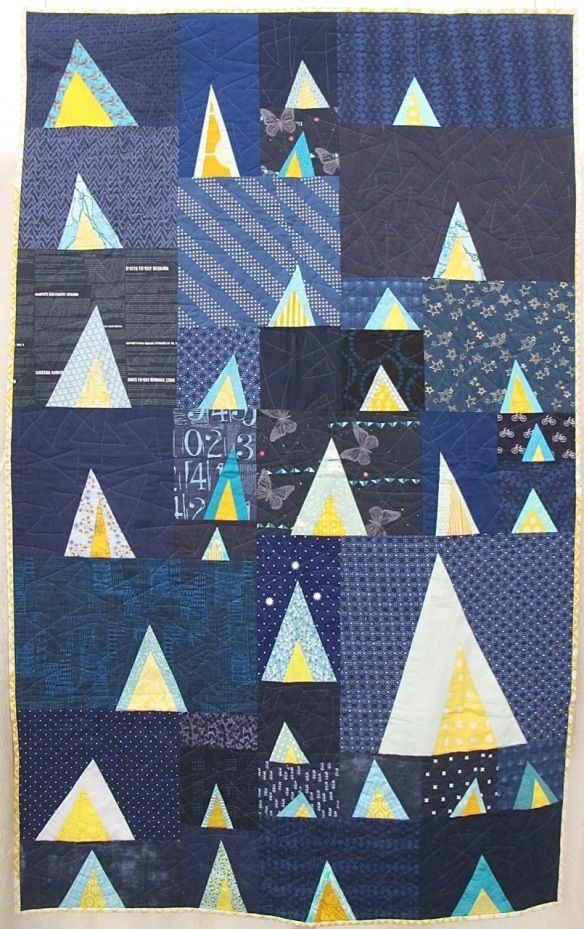 beautiful triangle modern quilt guild quilt design creations Stylish Triangle Modern Quilt Guild