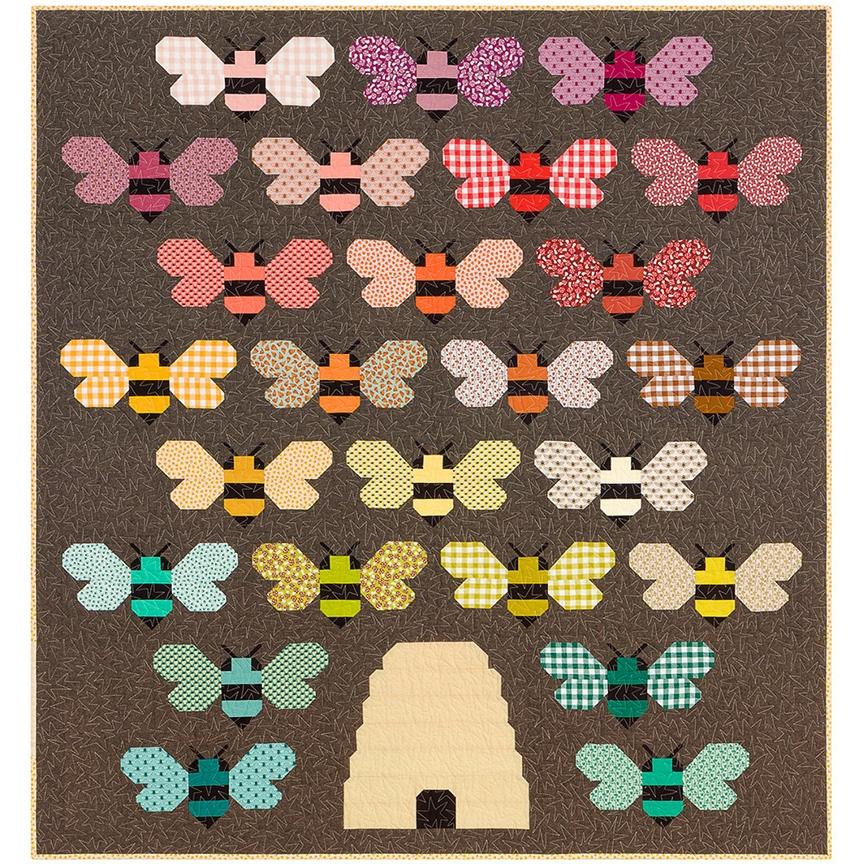 beehive quilt kit feat berry season elizabeth hartman Cool Elizabeth Hartman Quilt Patterns Gallery