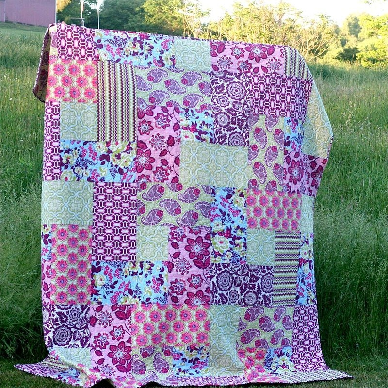 big block quilt for me gingercake easy quilt patterns Cool Large Block Quilt Patterns Inspirations