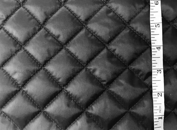 black quilted nylon taffeta fabric Stylish Black Quilted Fabric Inspirations