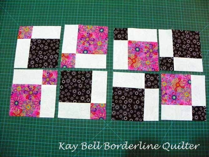 borderline quilter disappearing nine patch tutorial Cool Disappearing Nine Patch Quilt Pattern