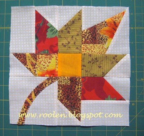 bright autumn leaf quilt projects quilt block patterns Cool Fall Leaves Quilt Pattern Gallery